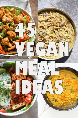 45 Healthy Vegan Meals for Veganuary