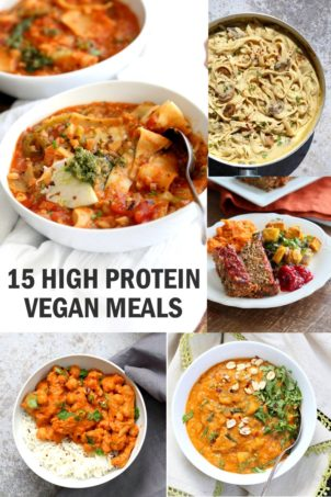 15 High Protein Vegan Meals