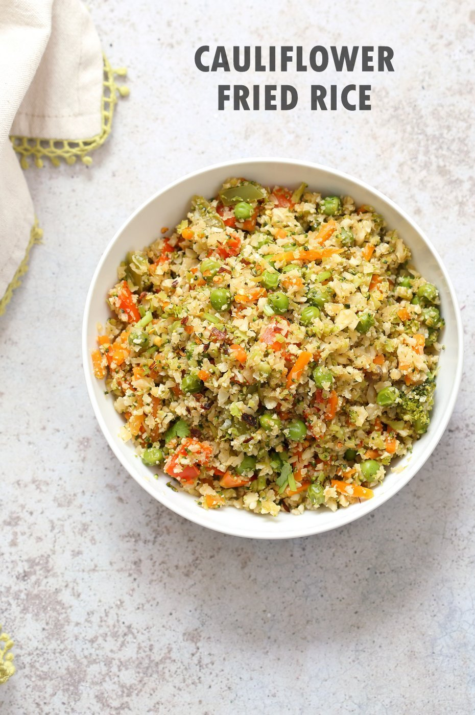 Cauliflower Fried Rice ? 1 Pot