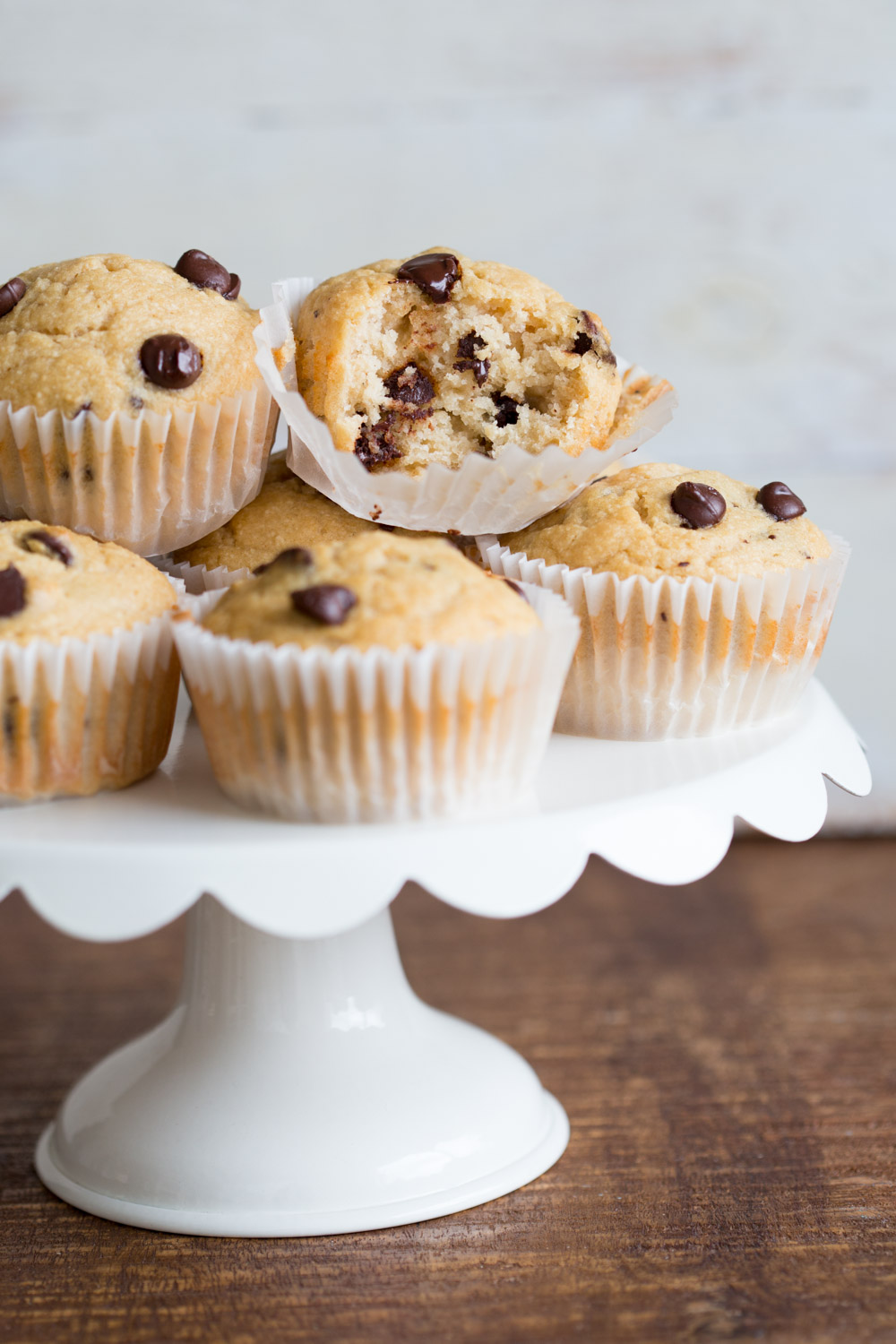 Chocolate chip muffins recipe using oil