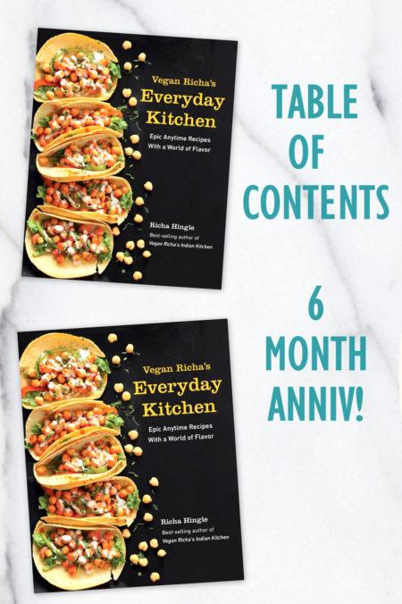 Vegan Richa's Everyday Kitchen Cookbook