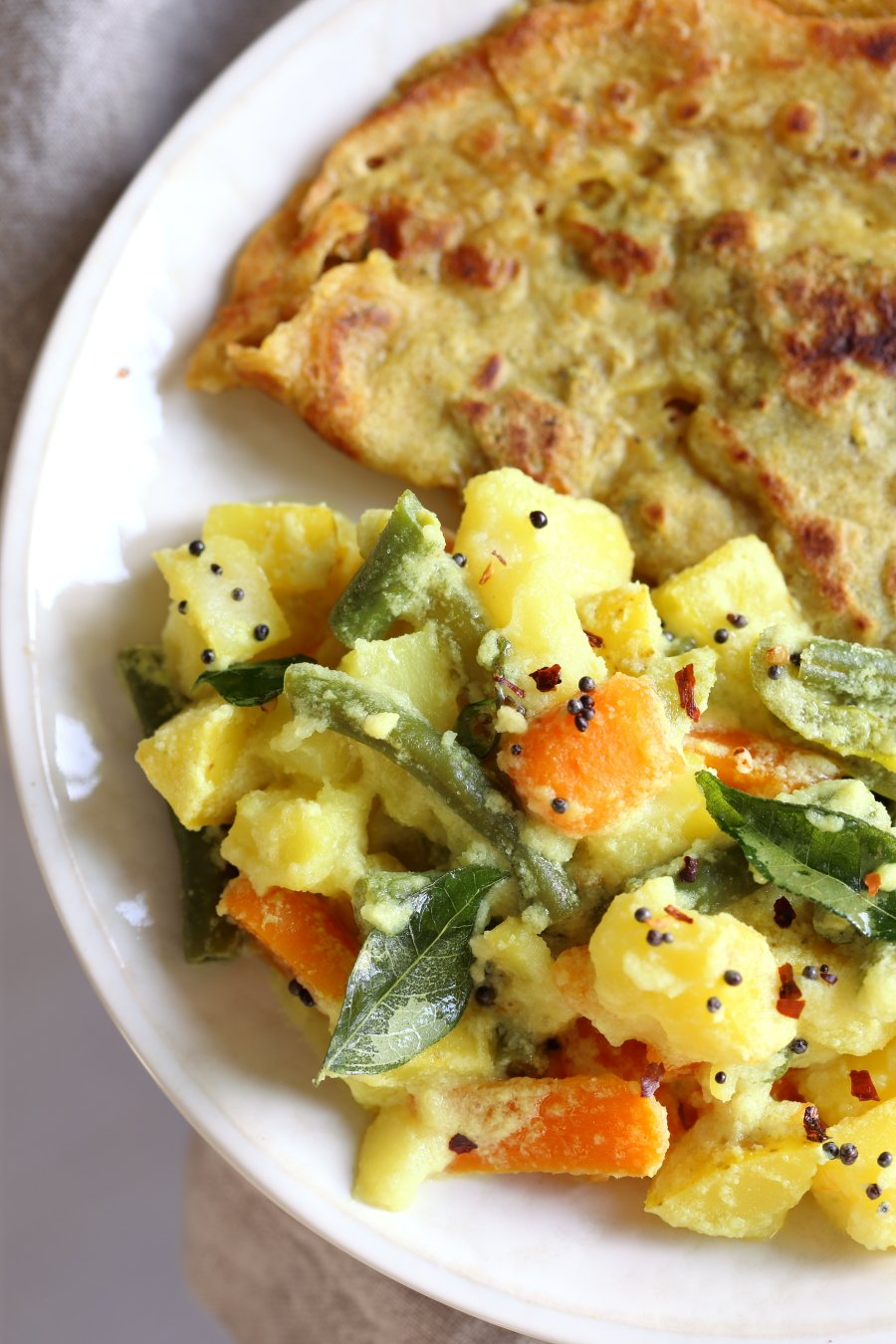 Avial , South Indian Veggie Coconut Curry , Vegan Richa