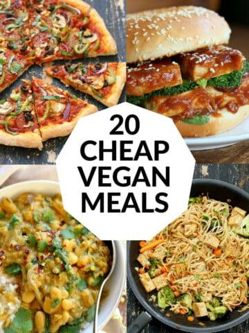 20 Cheap Vegan Meals