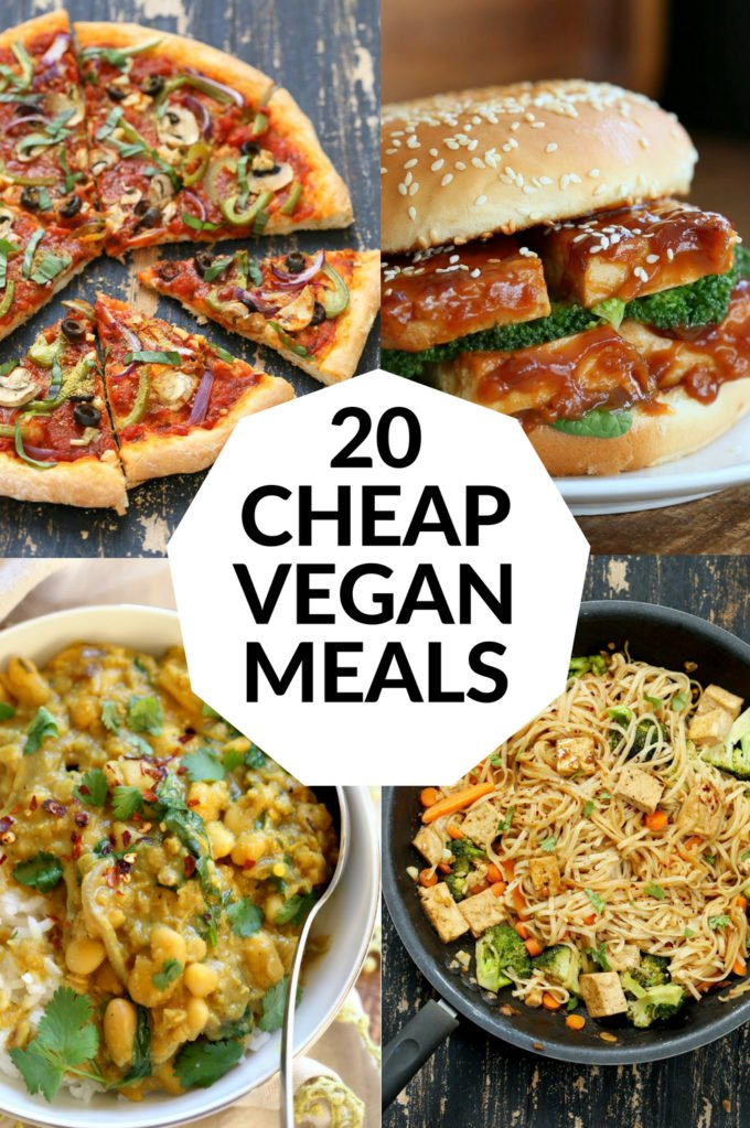 20 Cheap Vegan Meals