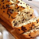 Vegan Chocolate Chip Cake Recipe. This Chocolate Chip Quick Bread is super easy and popular to everyone. Add seasonal berries, make cupcakes, add a streusel for variation. #Vegan #Soyfree #Nutfree #Recipe GF option #veganricha | VeganRicha.com