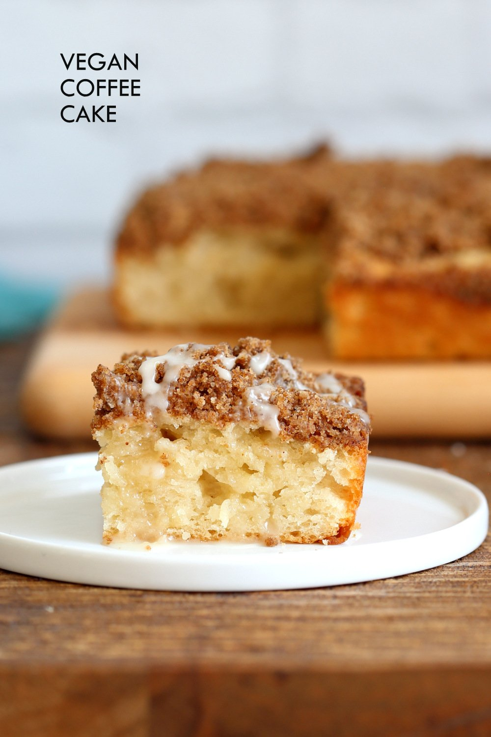 Vegan Coffee Cake Recipe ? Cinnamon Streusel Cake