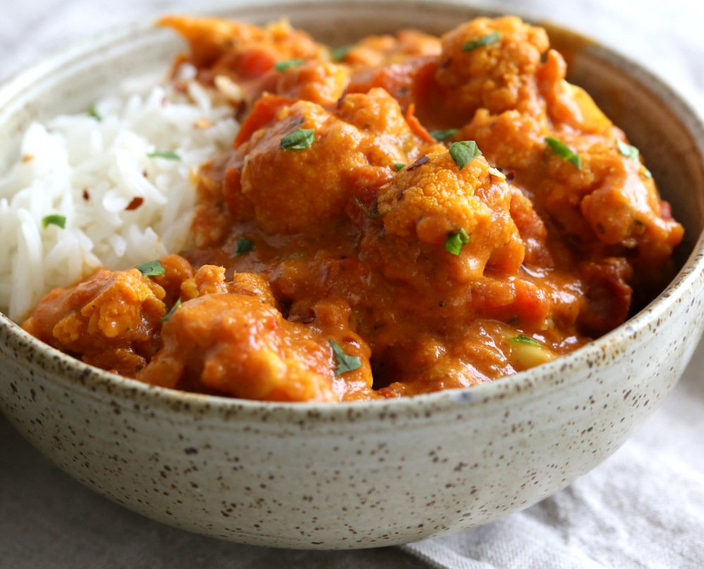 Vegan Cauliflower Tikka Masala - Vegan Richa