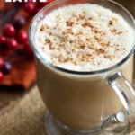 Vegan Gingerbread Latte