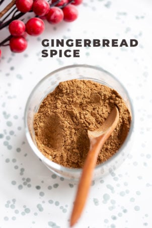Gingerbread Spice Mix Recipe