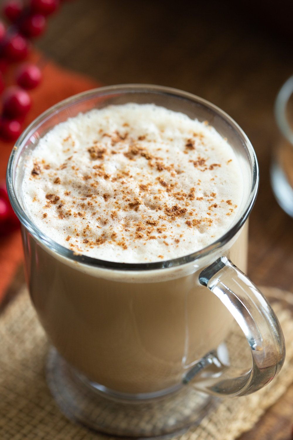 Creamy Warming Vegan Gingerbread Latte. This vegan version of the Starbucks gingerbread latte has fresh ginger, homemade gingerbread spice and amazing flavor. 5 Ingredients! Can be made caffeine-free. Vegan Glutenfree Recipe