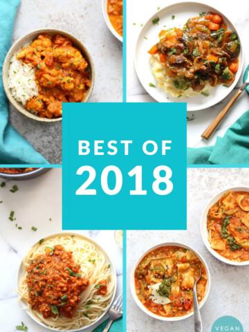 Best Vegan Recipes of 2018