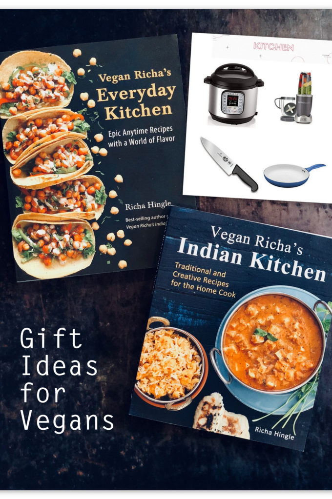 Best Gift Ideas for Vegans this Holiday | #Vegan #vegangifts #veganricha