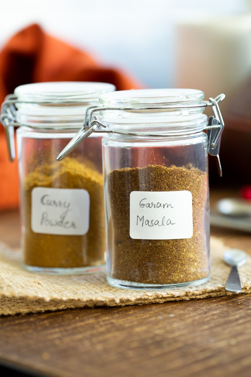 This quick Garam Masala spice blend takes 2 mins to make at home with everyday spices. Use it in Indian dishes, with roasted veggies, in soups, stews, cookies and more #VeganRicha