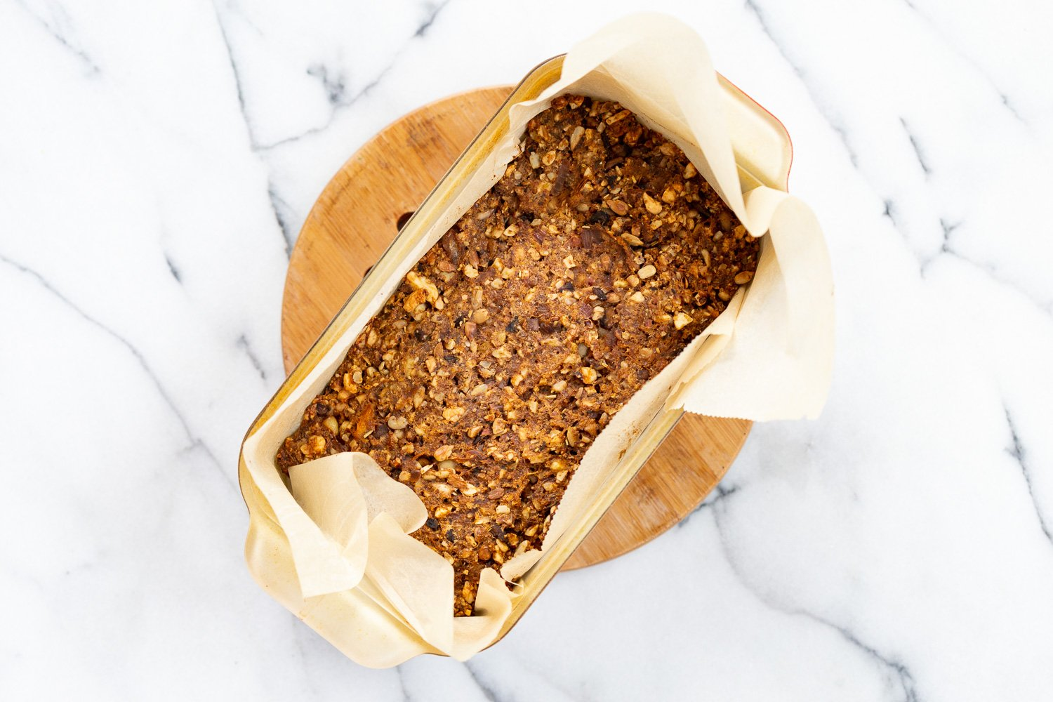 This Vegan Meatloaf is flavorful, decadent, nutty and great for anyone wanting a no bean/lentil loaf. Use nuts of choice. #Vegan #Recipe #VeganRicha . Can be Glutenfree