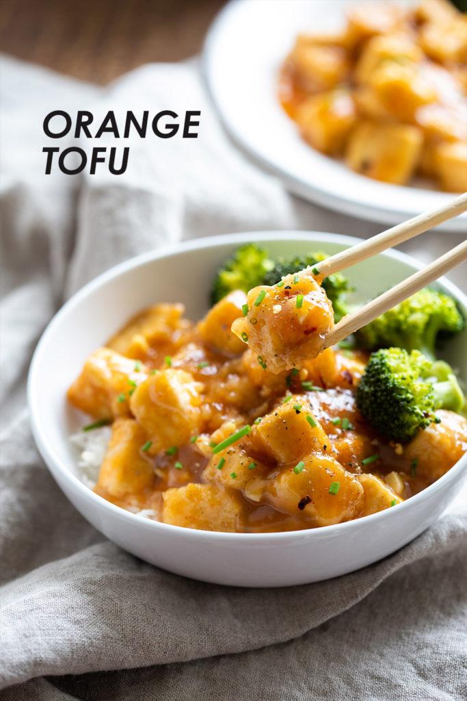 Vegan Orange Tofu Recipe