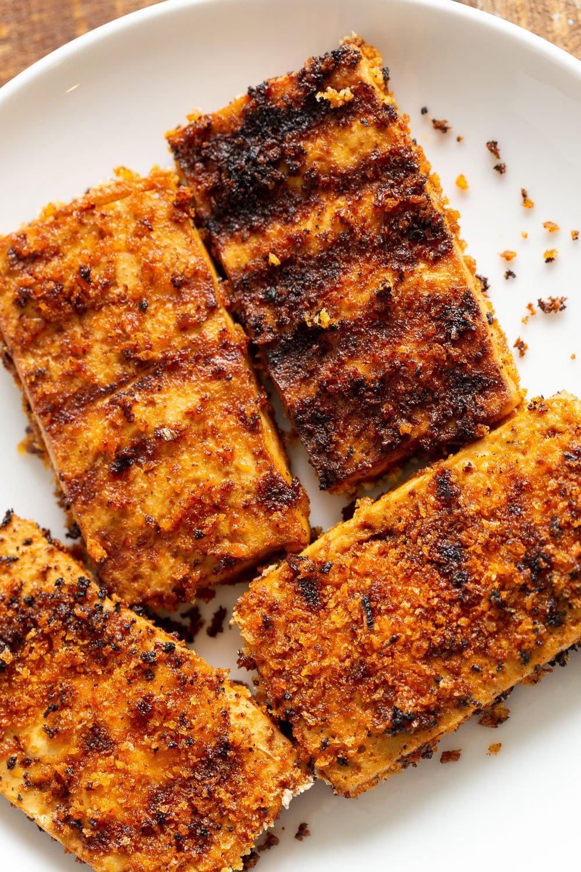 Crispy Breaded Tofu