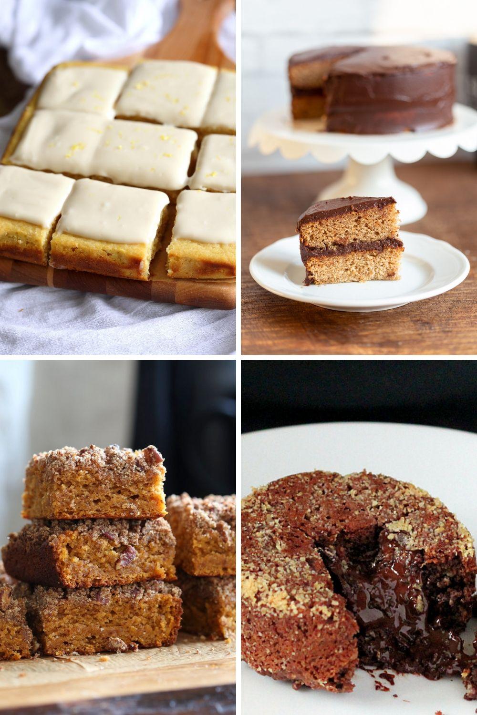 gluten-free vegan eggless cakes