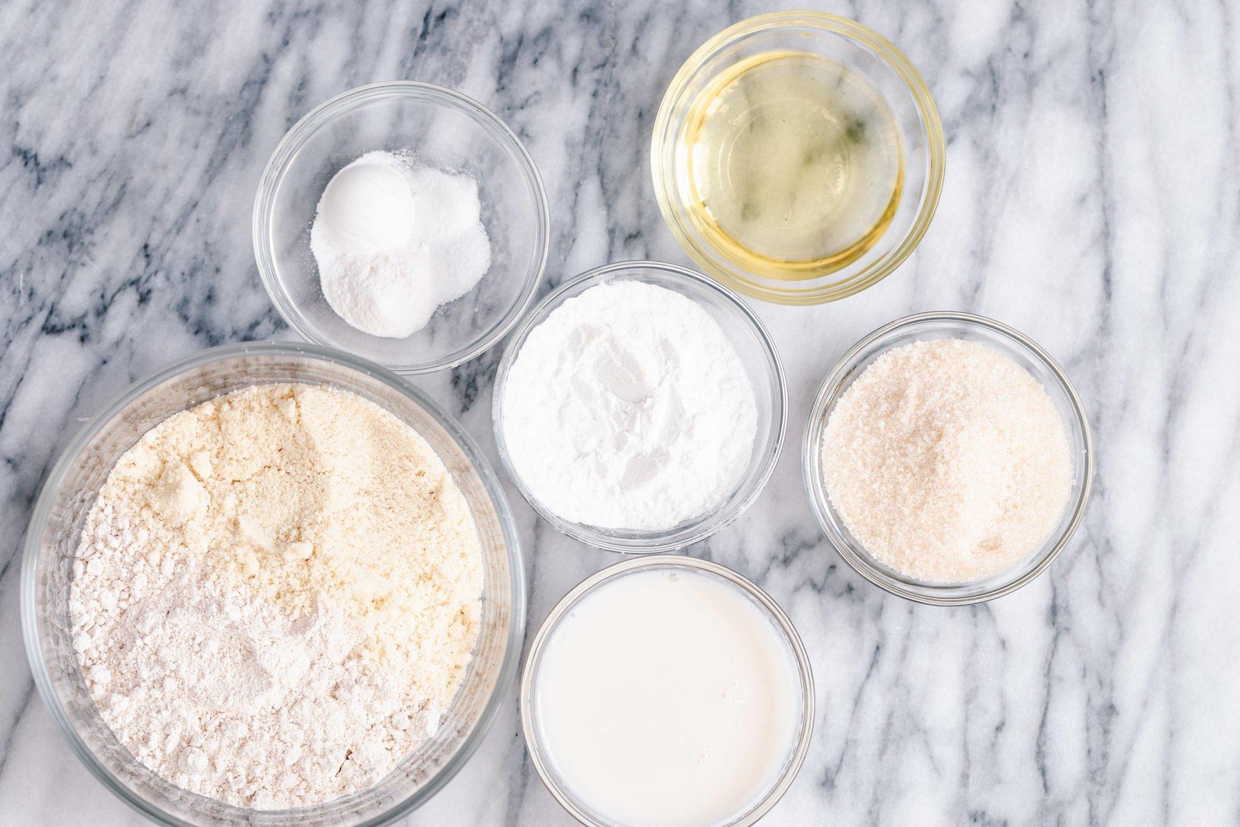 ingredients needed for making glutenfree vanilla donuts recipe