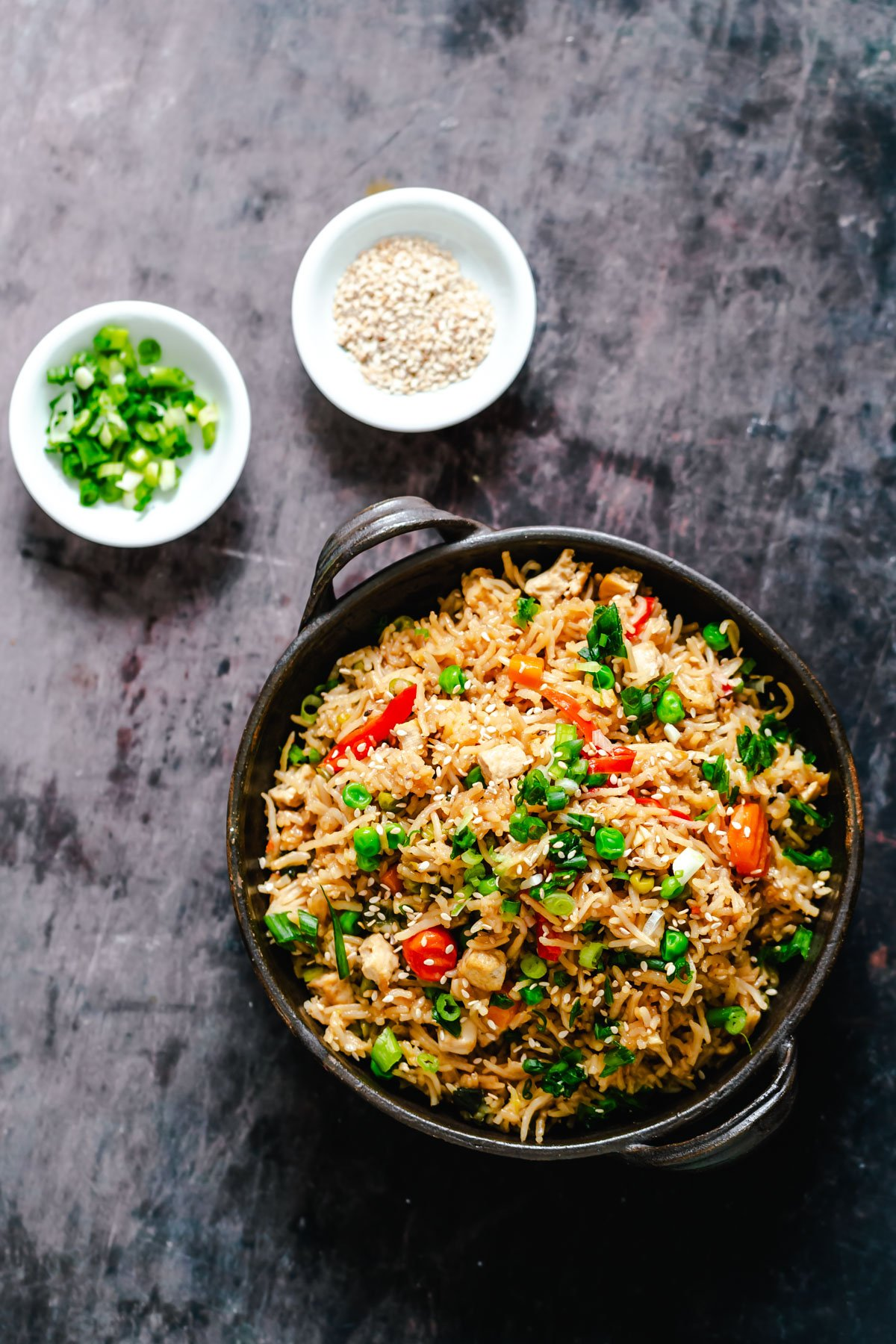Vegan Instant Pot Teriyaki Fried Rice - Vegan Richa