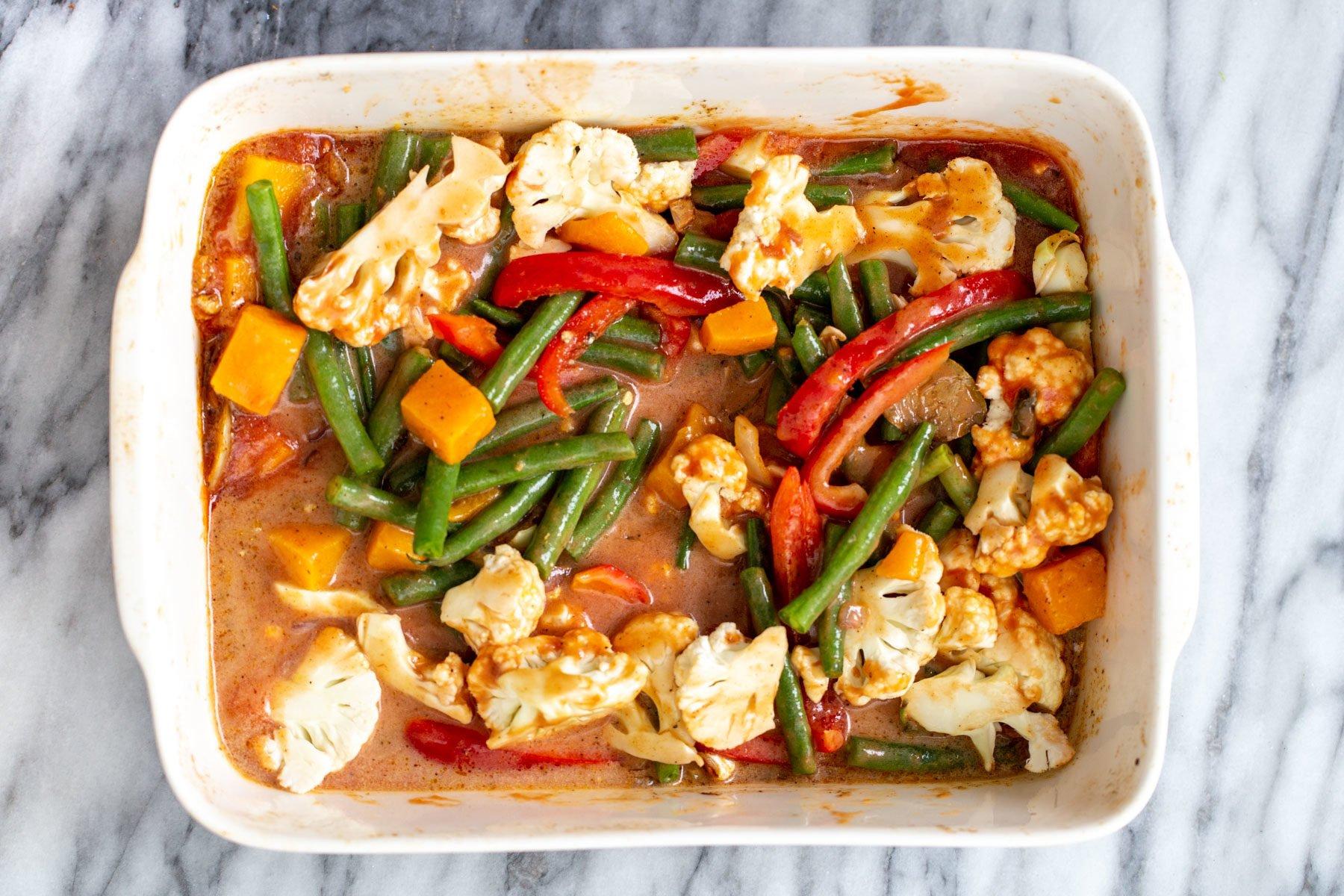 vegan vegetable casserole