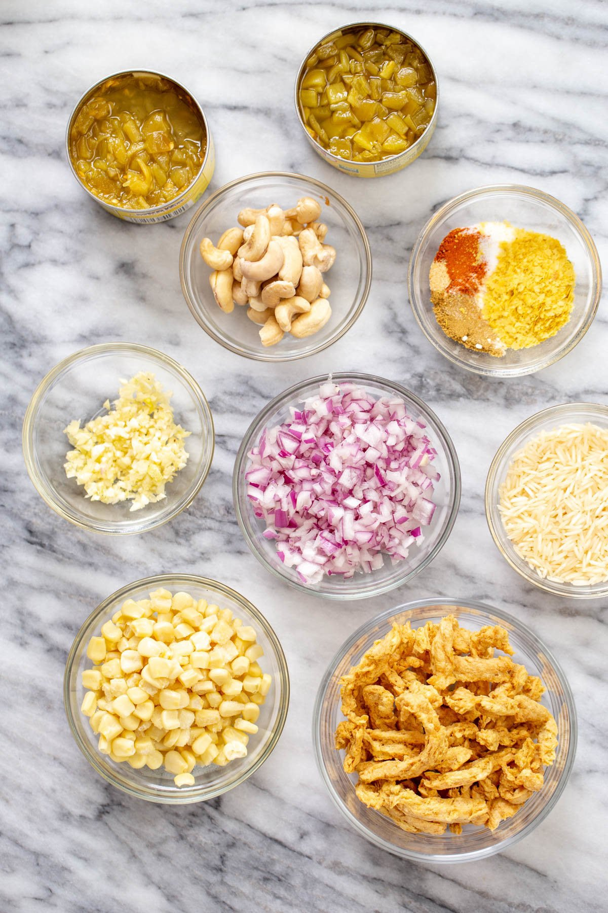 ingredients needed for making vegan enchilada soup