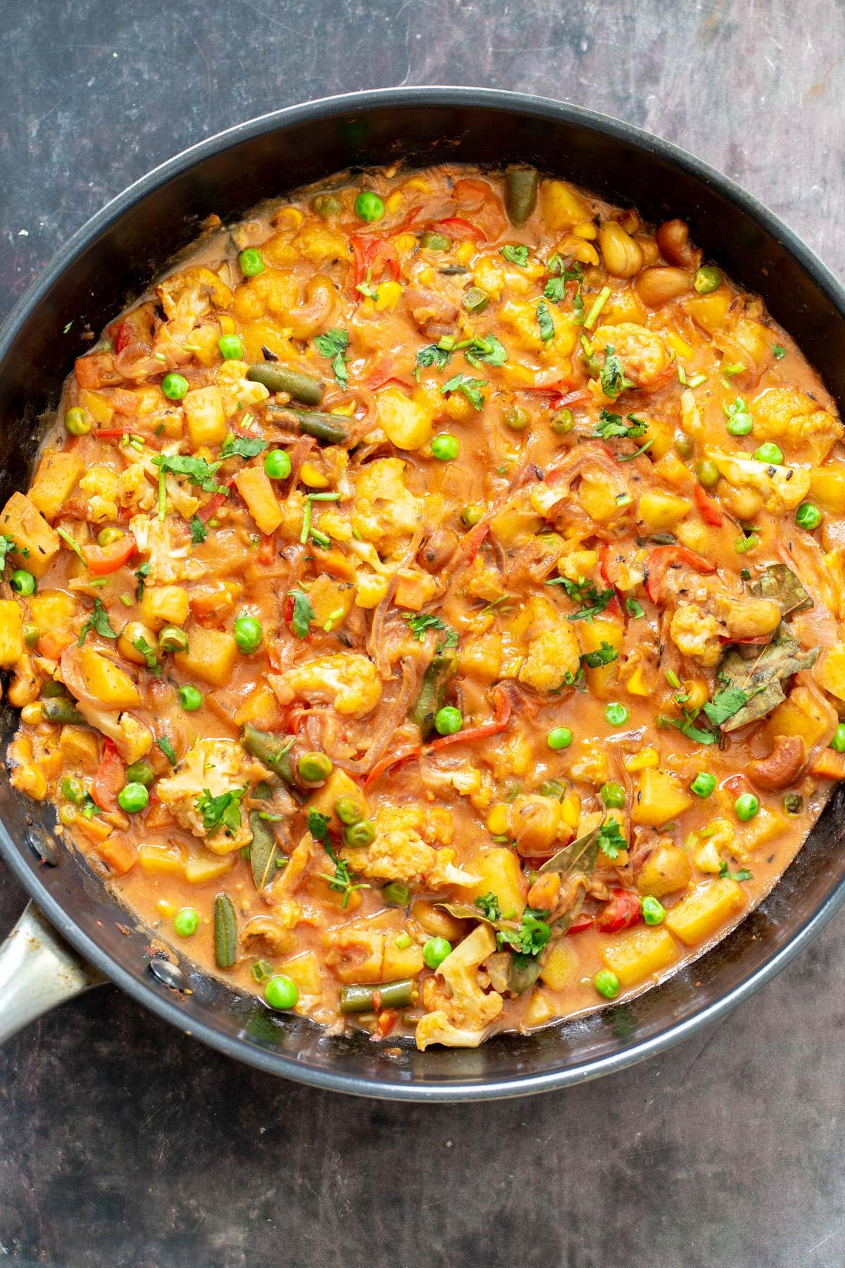 Diwani Handi Vegetables